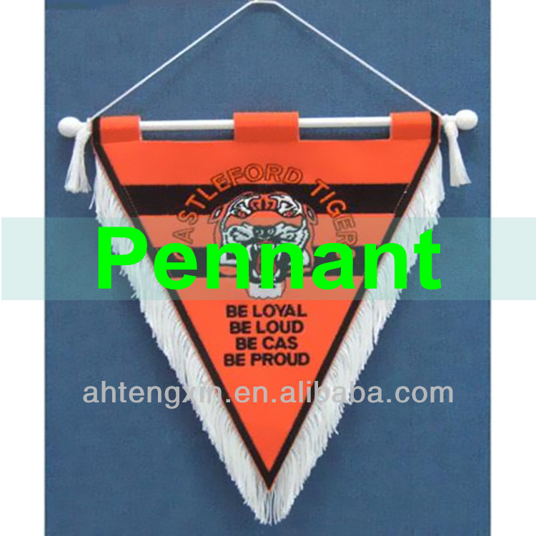 design customized printed decorative pennant