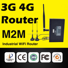 M2M Industrial WiFi 3G Router, Wireless 3g Router with sim card slot with external antenna