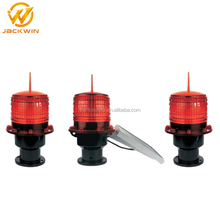 Solar LED Rotating Beacons Light For Marine