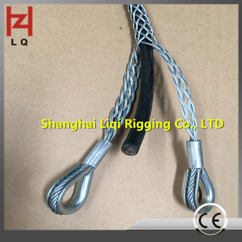25mm Double Strands Weave Double Eyes Grip Cable Tie Hot Cable Sock ...