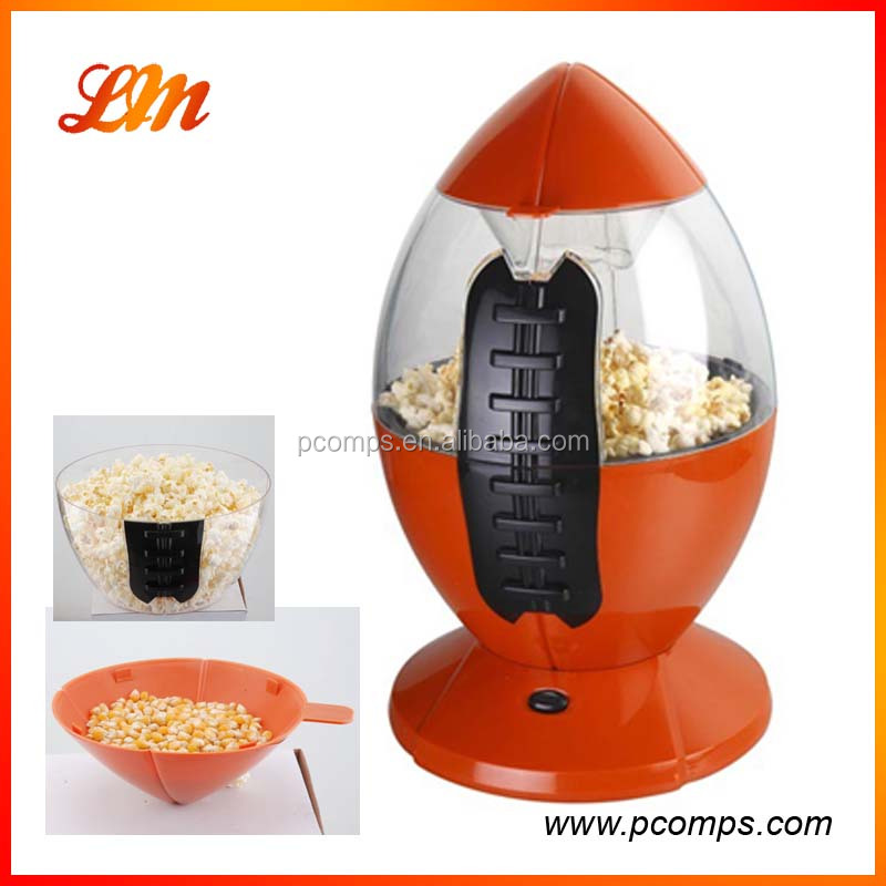Simple And Practical Children's Birthday Gift Rocket Type Popcorn Machine