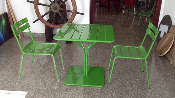 Factory  metal outdoor stack garden chair made in China