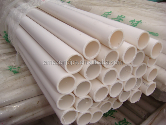 pvc-u large pvc pipe for electrical protect/casing