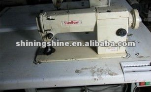 large stock used korea sunstar industrial sewing machine