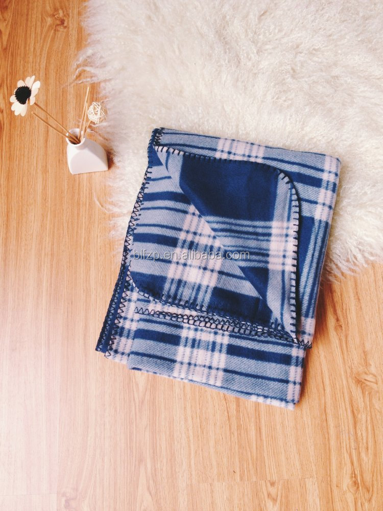 classical plaid cheap muslin swaddle blanket