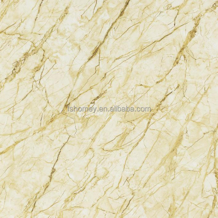 Marble Border Design Micro Crystal Porcelain Floor Tiles For Hotel Reception Of Italian Ceramic