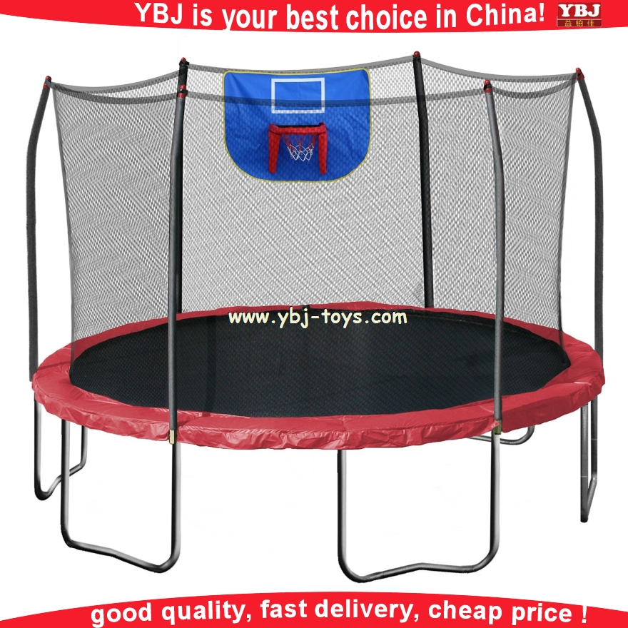 YBJ 2016 year professional fitness mini square trampoline with handle
