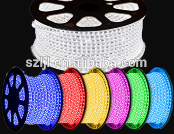 White/Warm White/Red/Green/Blue 60LEDs/m outdoor waterproof rgb led strip tape 220V 5050 LED Flexible Strip lighting