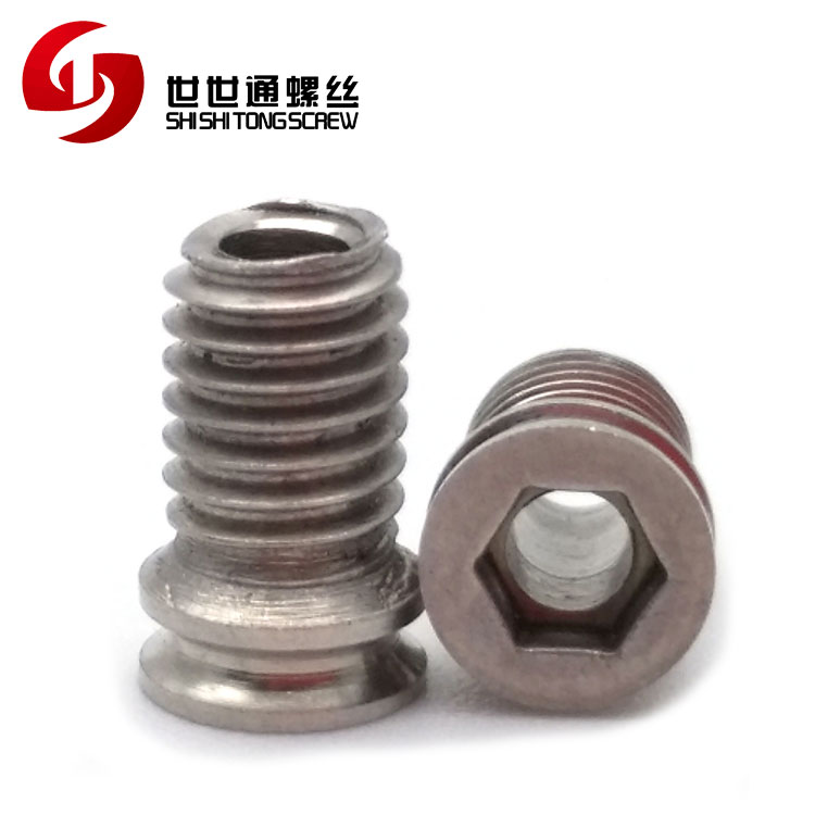 Customize Stainless Steel Hex Head Hole Through Screw