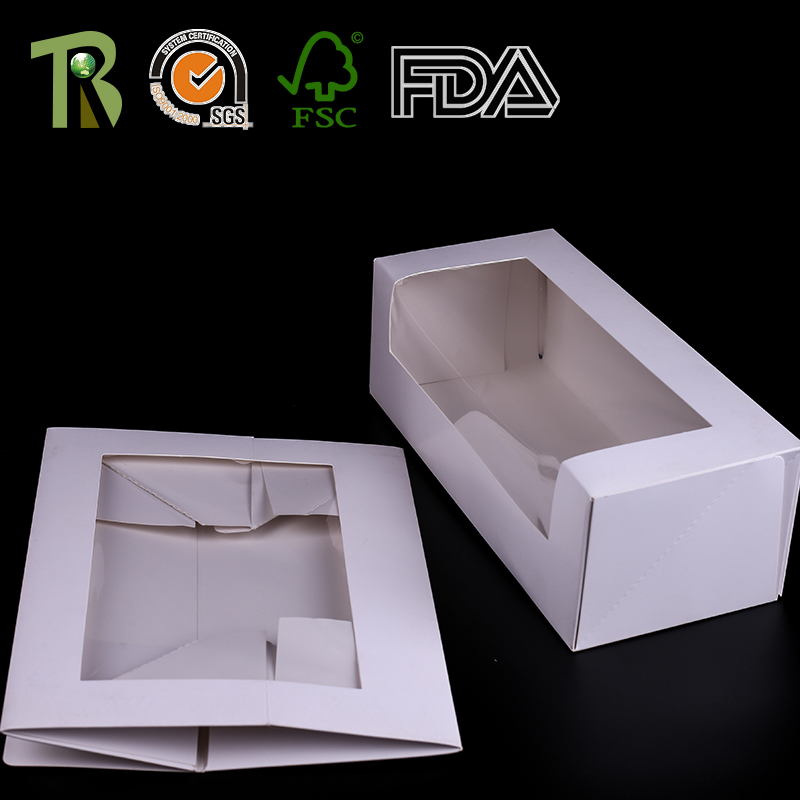 Professional Customization Paper Rectangular Cake Packaging Box