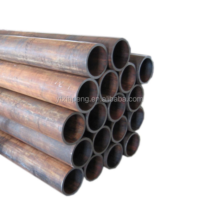 AISI1020 seamless carbon steel pipe ST52 hydraulic tube