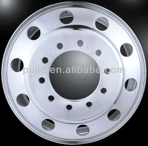 Forged Aluminum Semi Truck Wheel 22.5*8.25 Polished