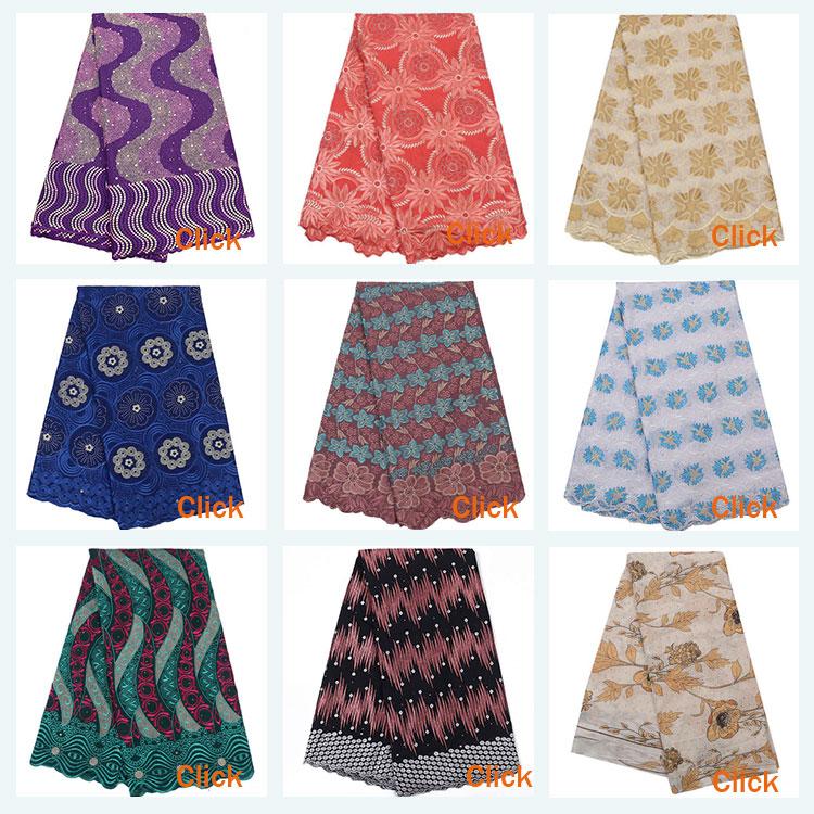 High quality elastic fancy cotton blue dubai swiss voile lace fabric