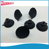 Heat resistant industrial screw silicone rubber sucker with screw