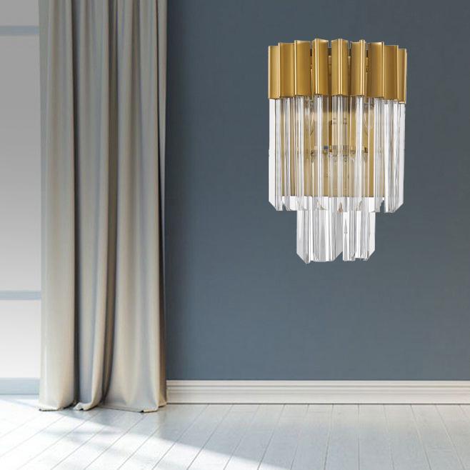 새로운 스타일 럭셔리 현대 벽 조명 장식 클래식 벽 램프 정착물