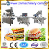Auomatic Fish Beef Meat Vegetable Vegan Hamburger Baking Machine