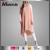 Malaysia Style Women Tunic Pink Dress Muslim Fashion Top For Wholesale