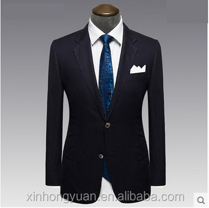 custom fashion slim English style business casual suits/blazers for men