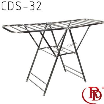 Table Detachable Folding Clothes Rack