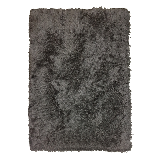 Home decor deep grey high weight long pile polyester shaggy carpet