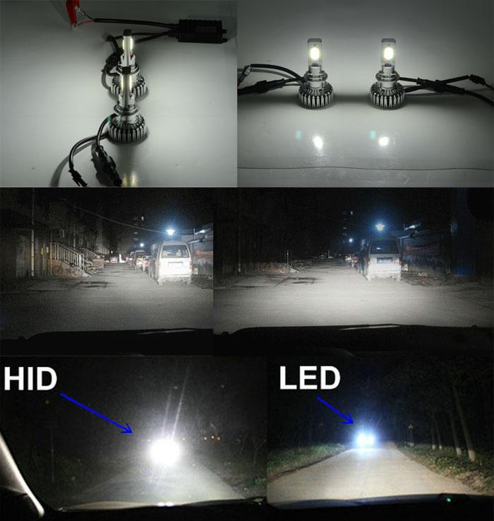 most brightness 2500lm led car headlight kit h4 h7 h8 h9. Black Bedroom Furniture Sets. Home Design Ideas