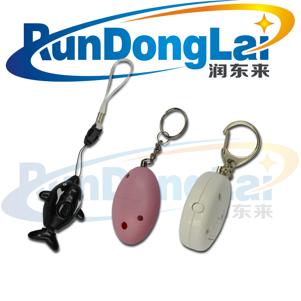 Self Defense Security Alarm Personal Alarms for Women Kids Elderly Students Night Workers & as Bag Decoration