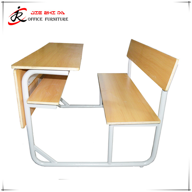 Commerical furniture and Office furniture wholesales adjustable single student desk and chair