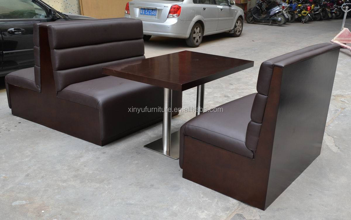 Restaurant Booth Sofa And Dining Table Set Xyn1838 Buy