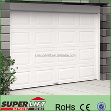 Garage door low price ,cheap auto garage door produced by consective line