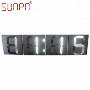 European Led Time and Temp Sign with GPS/ timer board/ clock NTP/ countdown/count-up display
