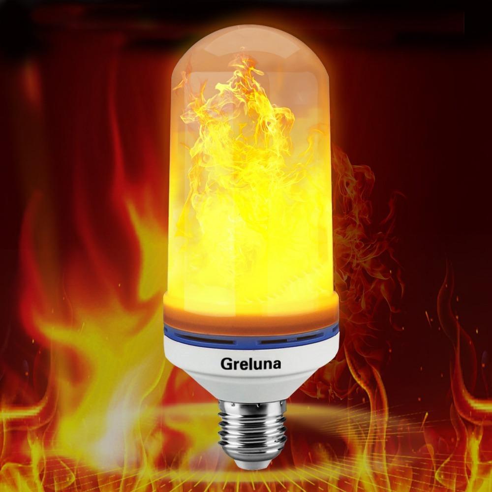 Nature Effet 2835 Feu V Flamme 105 Pcs Décoratif Ampoule Base Lampe Flamboyant Perles Ambiance E26 12 Artificielle Led HIY9W2ED