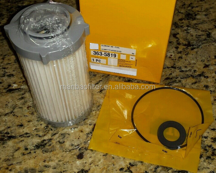 Customize Auto Oil Filter 363-5819 For Car Engine Parts