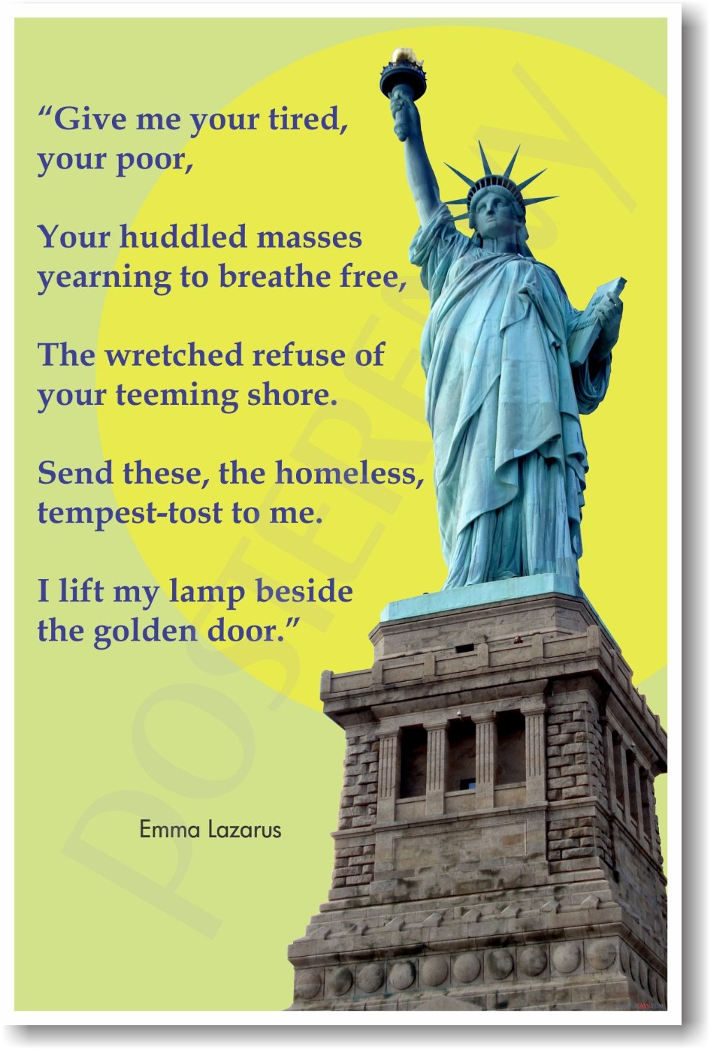 Give me your poor statue of liberty 2