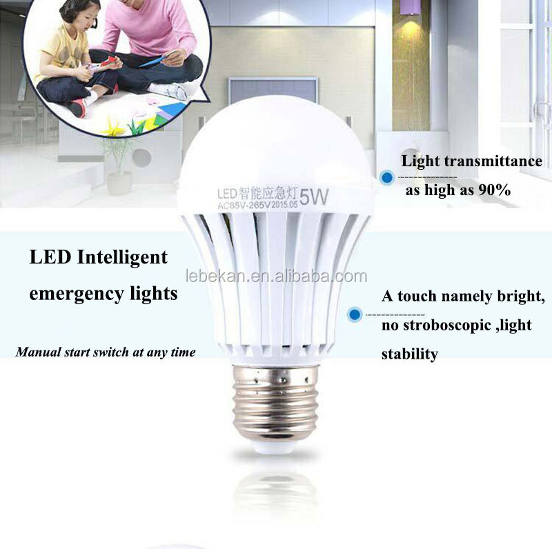New Style E27 B22 5w 7w 9w Led Rechargeable Battery Operated Light