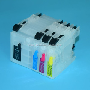J105 J200 J100 LC535 LC539 Printer Ink CFor Brother DCP-J105 Shot Refill ink cartridge
