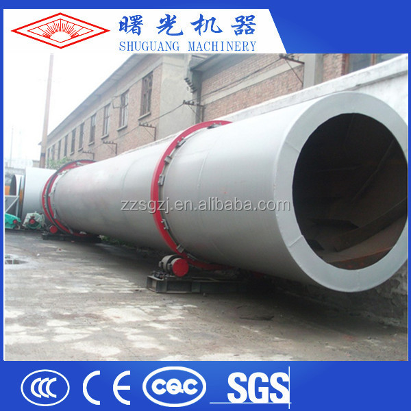 Good Drying Effect 20M Long Peat Drying Rotary Dryer