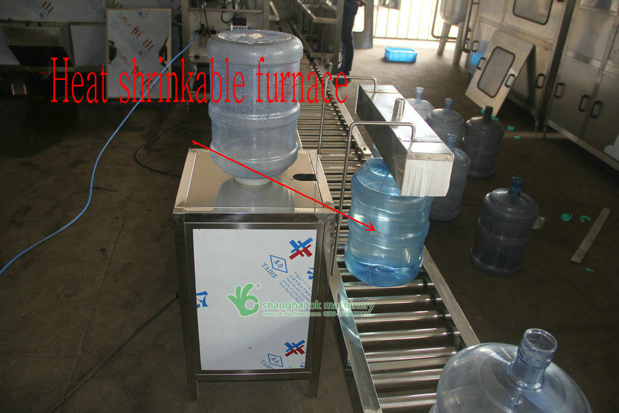 5 gallon bottle washing filling capping and labeling machine