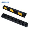 900mm Rubber Curb, Black Heavy Duty Parking Blocks with Yellow Reflective Stripes, Wheel Stop Stoppers for Car, Truck, RV