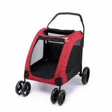 Amazon Hot Koop Multifunctionele 4 Wielen Groter <span class=keywords><strong>Hond</strong></span> <span class=keywords><strong>Wandelwagen</strong></span>