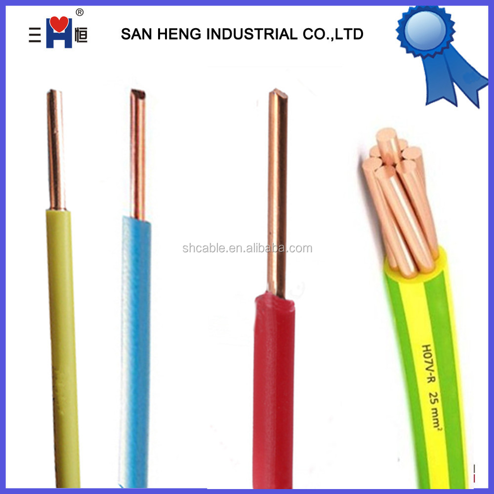 Copper Wire 1.5mm2 2.5mm2 4mm2 Electrical Wiring - Buy Thin ...