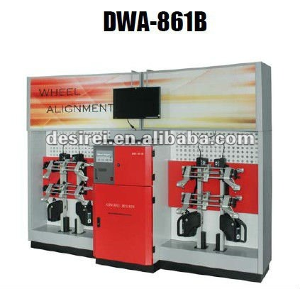 3D WHEEL ALIGNMENT WITH CE/WHEEL ALIGNER MACHINE