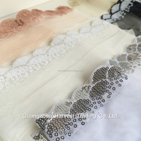 Scalloped Lace Trimming,Embroidery Designs On Tulle,Scalloped ...