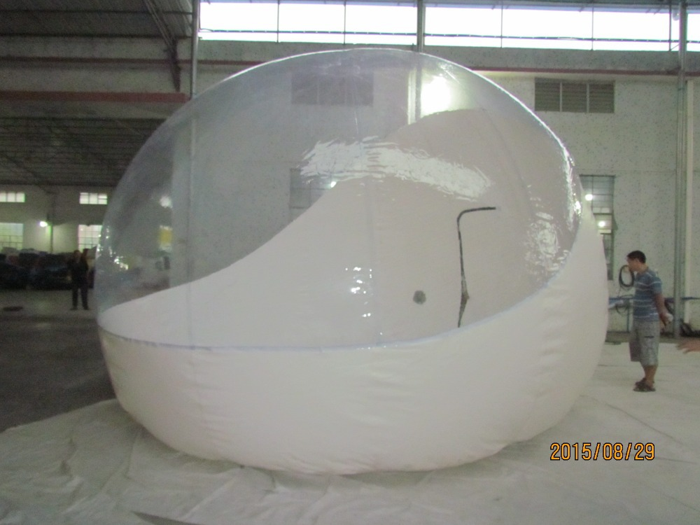 Camping inflatable dome tent inflatable transparent tent for sale