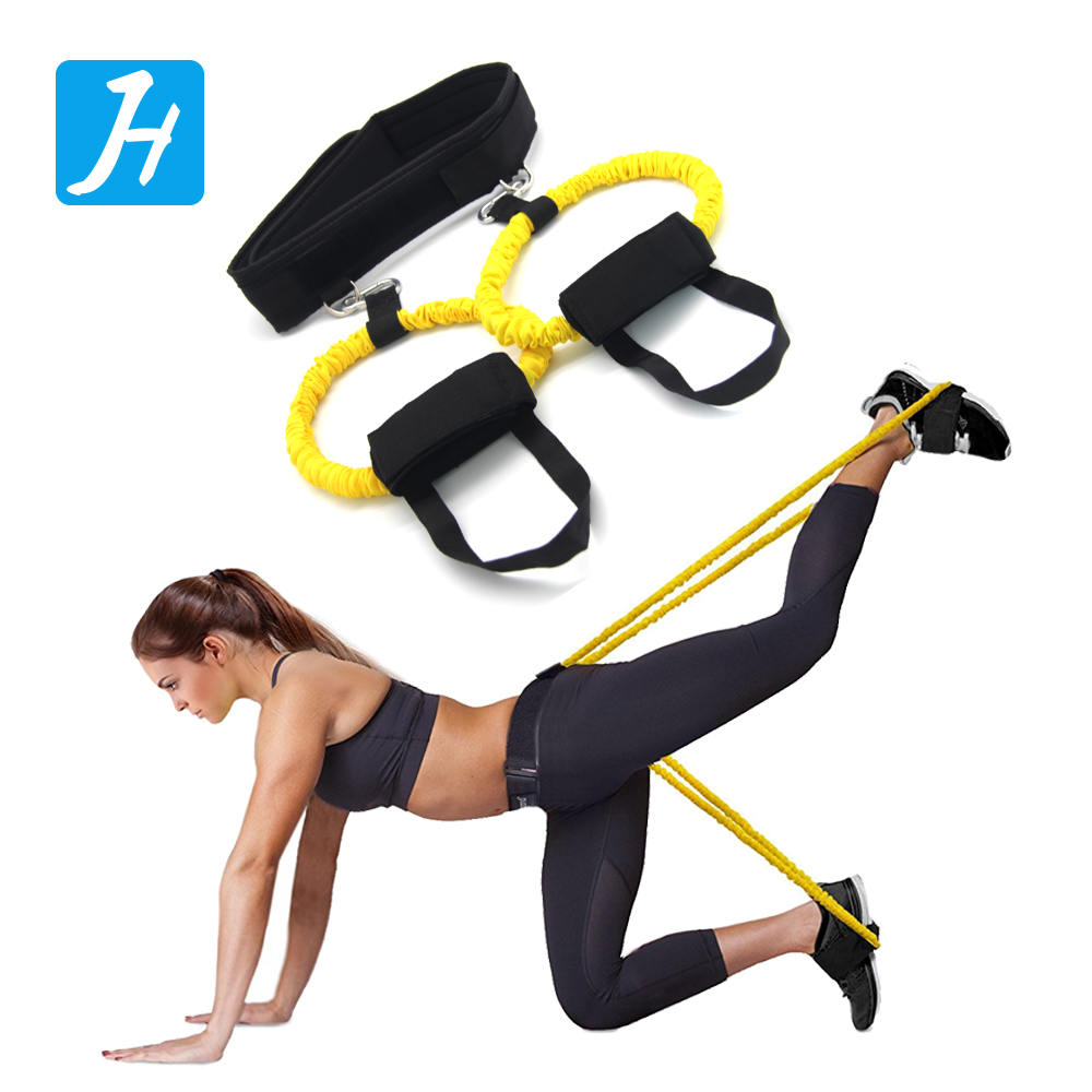 New Arrival Fitnesss Exercise Training The Booty Belt System Bands