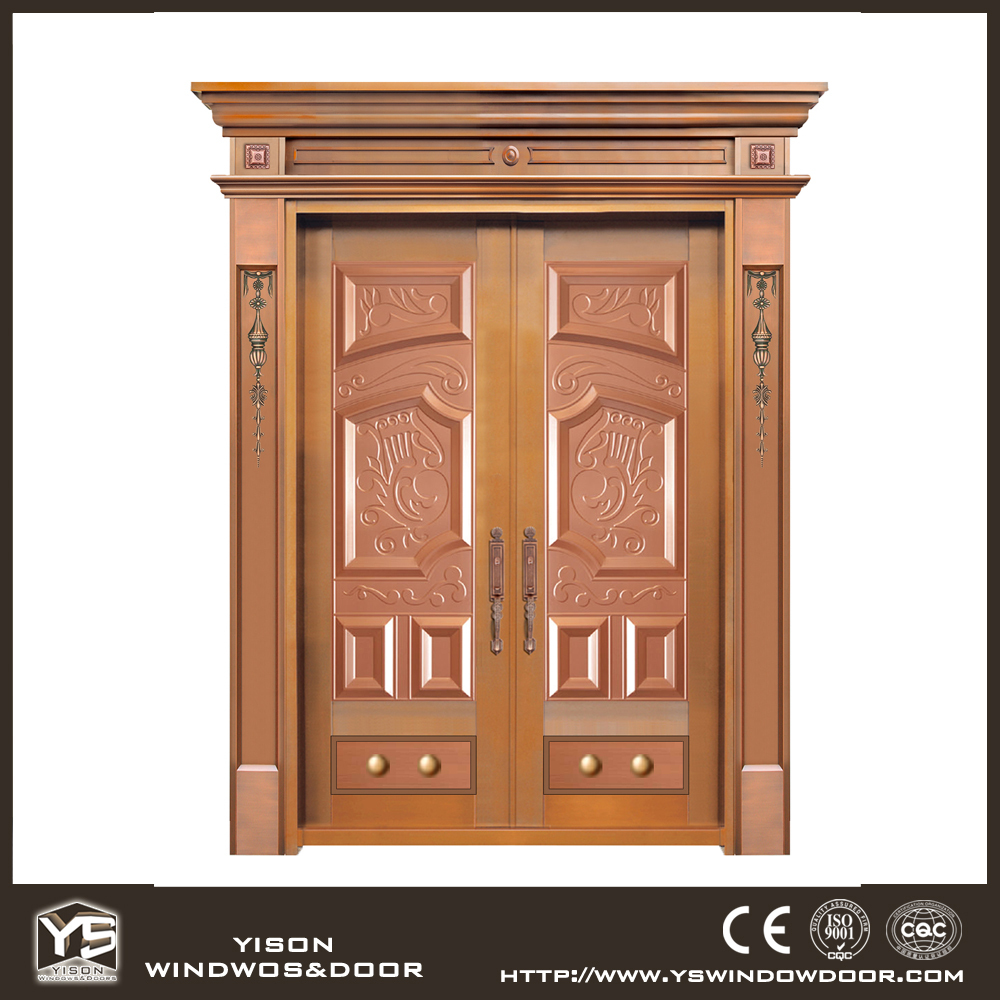 Unique Home Designs Copper Security Door Iron Main Gate Designs ...