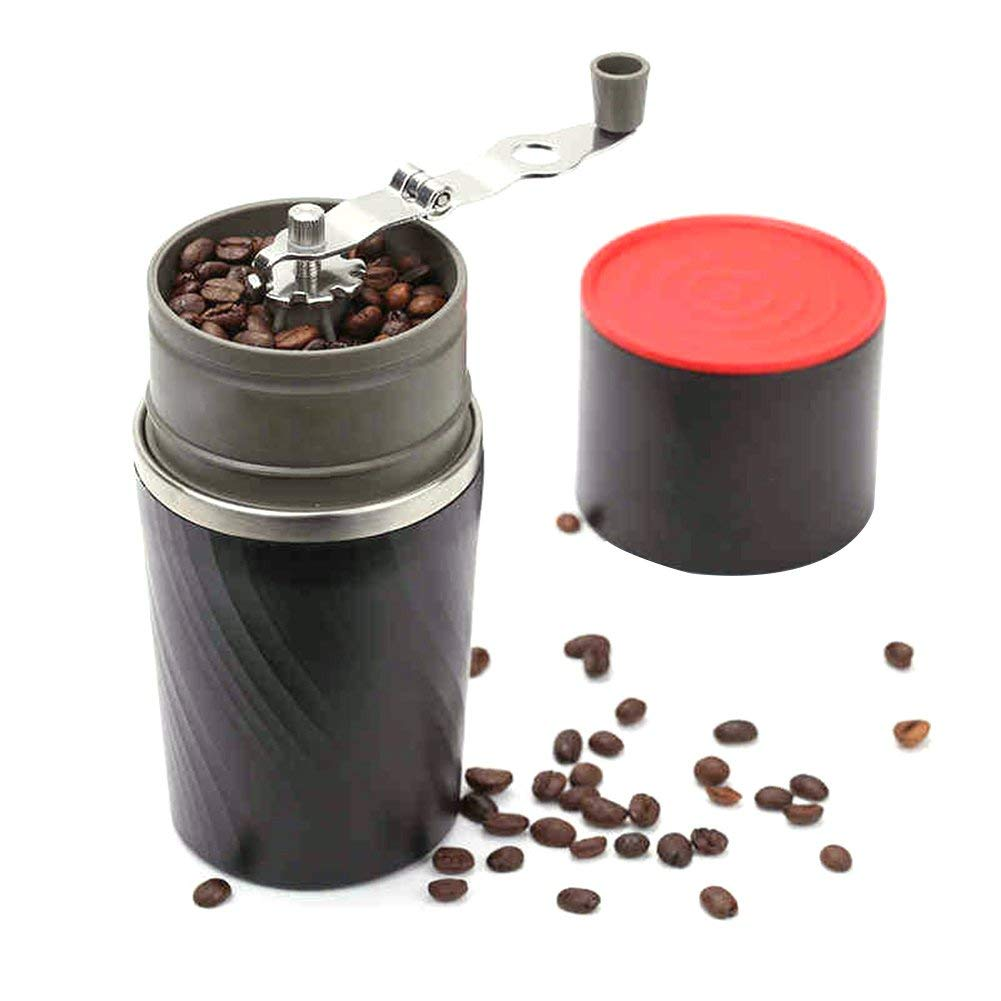 Meiyiu Portable 4-in-1 Stainless Steel Hand-operated Coffee Bean Grinder Coffee Mill