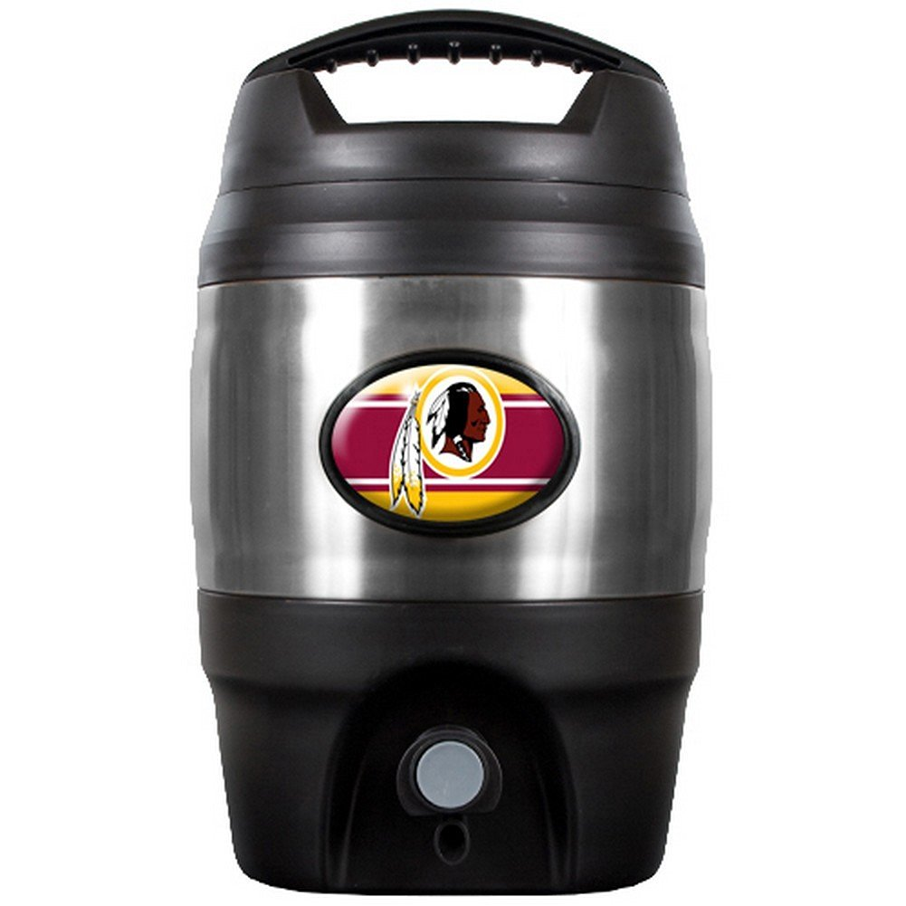 NFL Washington Redskins Tailgate Keg, 1-Gallon