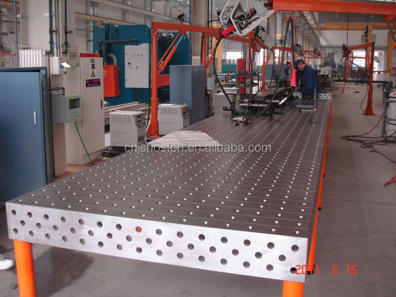 3d Modular Welding Table With Fixtures And Jigs Buy
