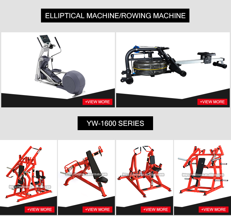 2019 update new design commercial fitness YW-1706 gym use machine super bench