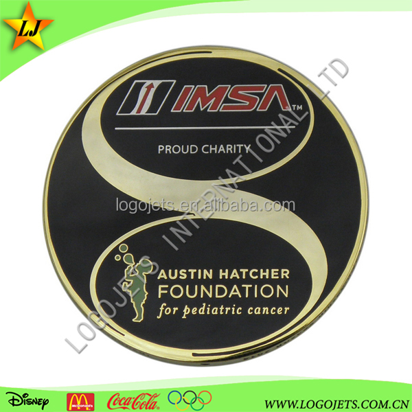 Most popular stamped with imitation hard enamel challenge coin